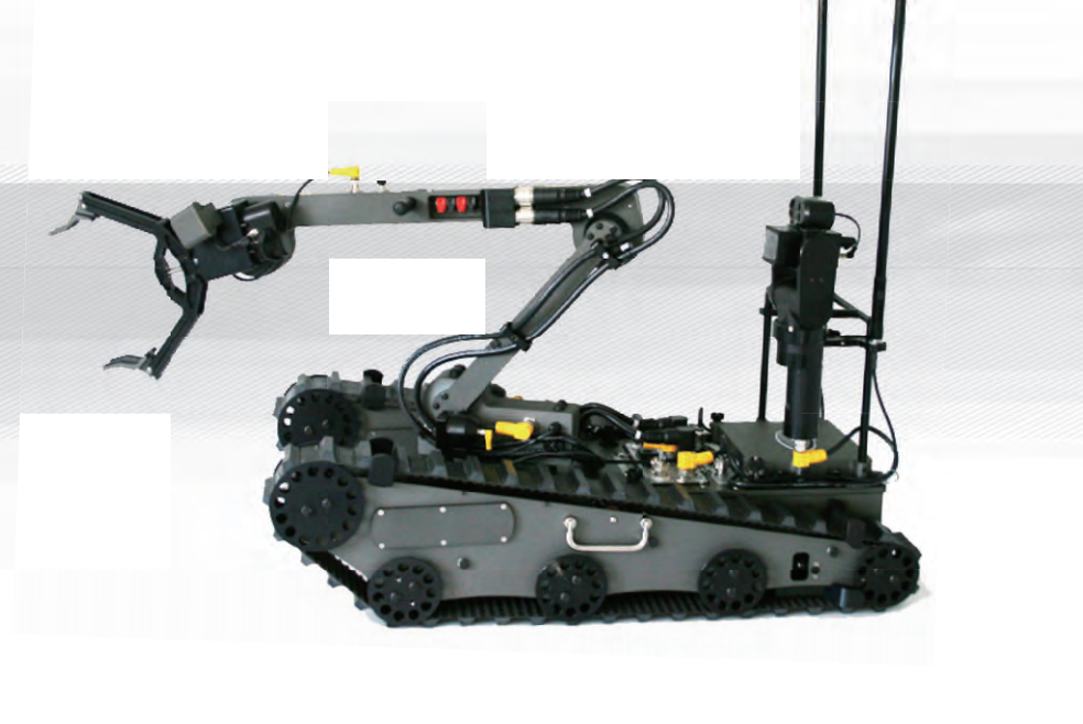 数字化排爆机器人